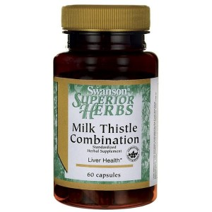 Swanson Milk Thistle Combination (Ostropest plamisty) - (60 kap)