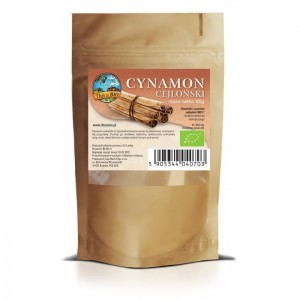 CYNAMON CEJLOŃSKI 100% ORGANIC - 60G [THIS IS BIO®]