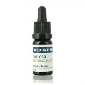 MediHemp Olejek konopny CBD CO2 10% 10ML