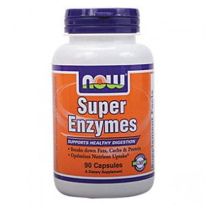 Super Enzymes 90kaps. Now Foods