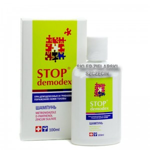 Szampon Stop Demodex Demodekoza, Nużyca, 100 ml Demodex folliculorum