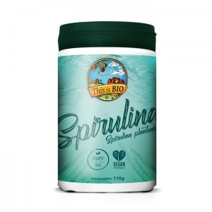 SPIRULINA 100% ORGANIC - 110G [THIS IS BIO®]