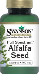 Full Spectrum Alfalfa 400mg 60kaps